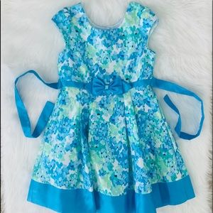 NWOT! JONA MICHELLE GIRLS FLORAL DRESS